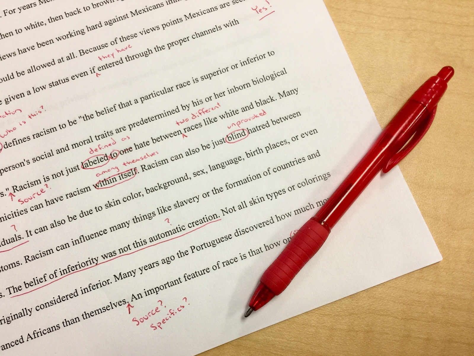 QBS Learning offers copyediting services to ensure a manuscript free of any grammatical, punctuation or syntax errors.
